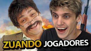TROLLANDO JOGADORES NO PUBG!! Ft. Poderoso Castiga