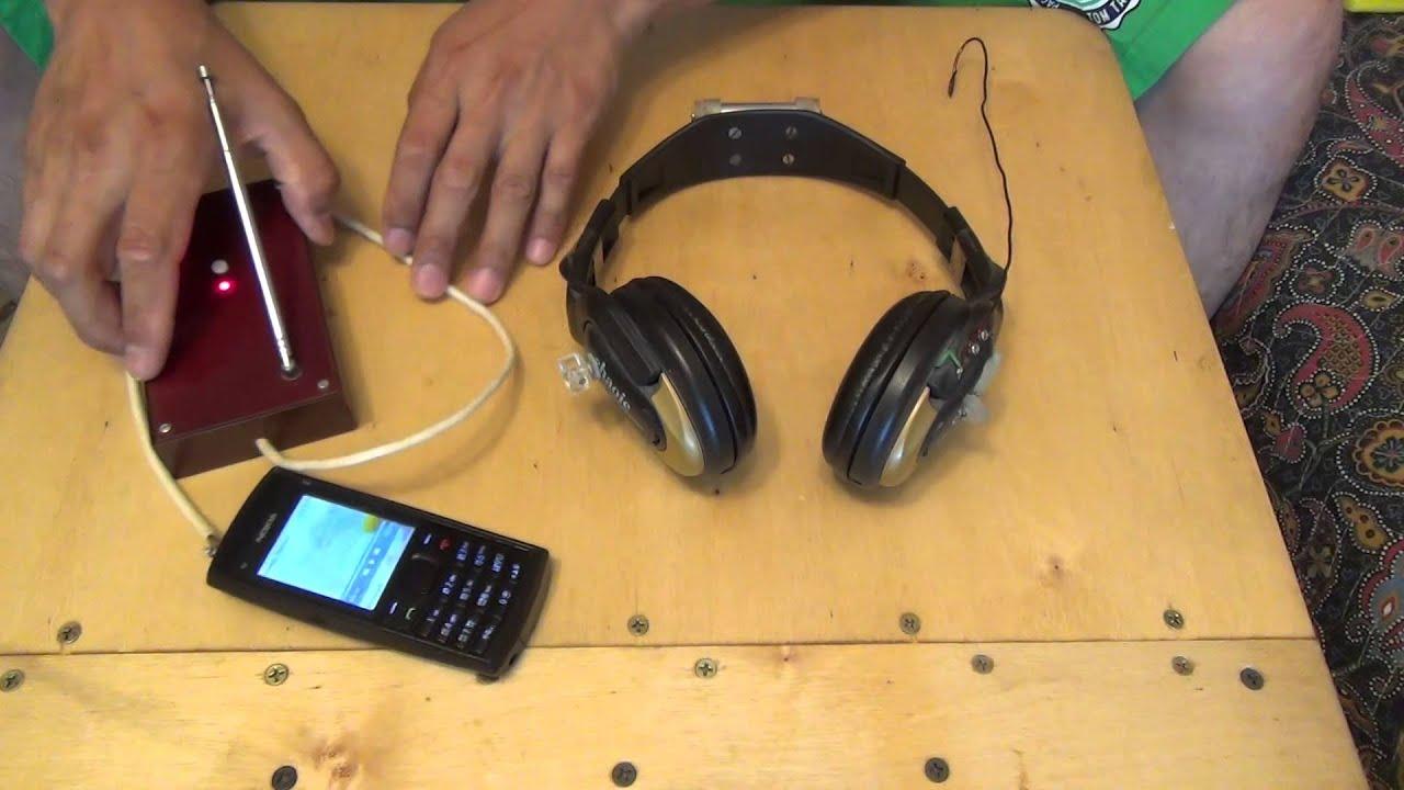 Гарнитура для телефона своими руками 803