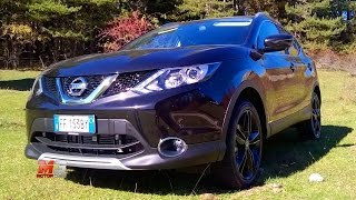 NEW NISSAN QASHQAI BLACK EDITION 2017 - FIRST TEST DRIVE - ENG ITA SUB