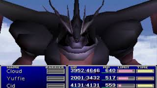 Let's play Final Fantasy VII #095 Ultima Weapon