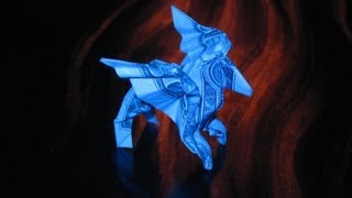 Dollar Origami: Bo Gulledge Pegasus