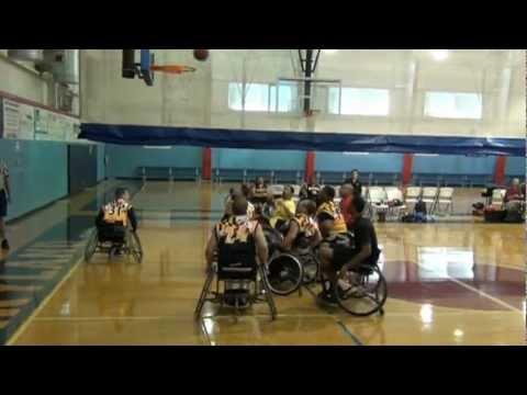 Maryland Ravens 2012 Celebrity Charity Wheelchair B-ball Game