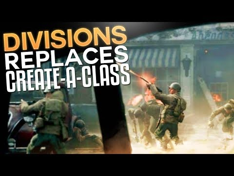 Divisions Replacing Create A Class? (Call of Duty: WW2 Multiplayer Gameplay Information)