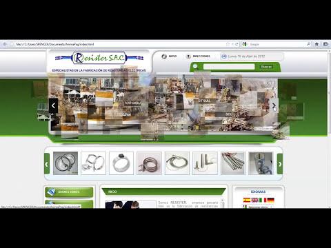 Como Hacer Páginas Web / Animación de la cebecera de nuestra página web con WOW SLIDER