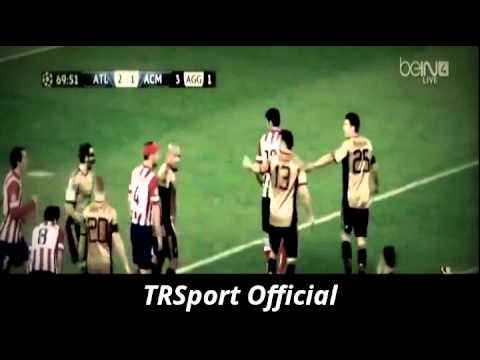 Atletico Madrid vs AC Milan 4-1 All Goals and Highlights 11 03 2014 [HD]