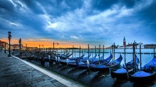 Travel Photography Retouching Venice Sunrise Lighroom 4 tutorial by Serge Ramelli