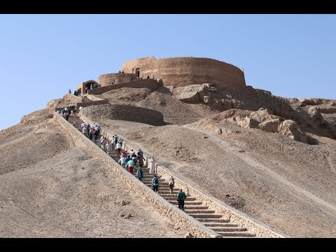 Download Tower of Silence .  Yazd . Iran Mp4 baru