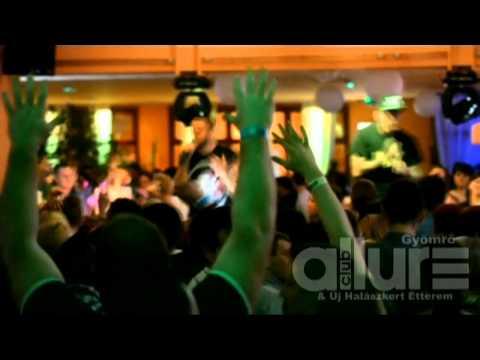 2013.01.19. MAJKA & CURTIS - RETRO PARTY - DJ ASPEE @ CLUB ALLURE GYÖMRŐ