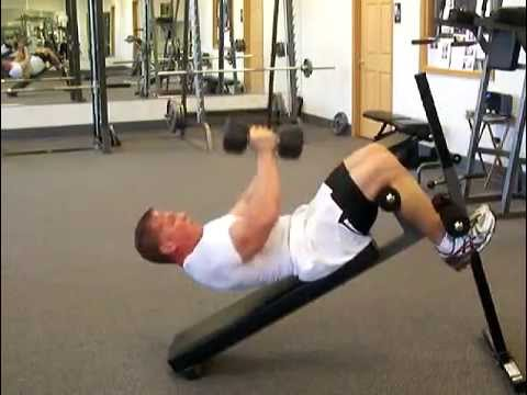 Abdominal Exercises: Dumbbell Push & Pull by Darin Steen
