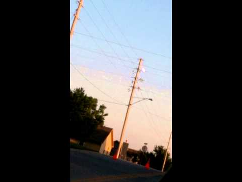 Arcing power line