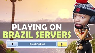 WHEN DAEQUAN PLAYS ON BRAZIL SERVERS...