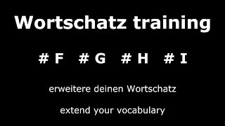 Learn German Unit 2 | Important and Useful Words | Core Vocabulary | German ⇔ English Audio ♫