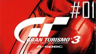 Let's Play Gran Turismo 3 #01 - Buckle Up, Let's Ride!