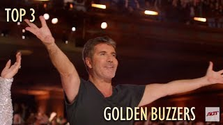 TOP 3 GOLDEN BUZZER America's Got Talent 2019