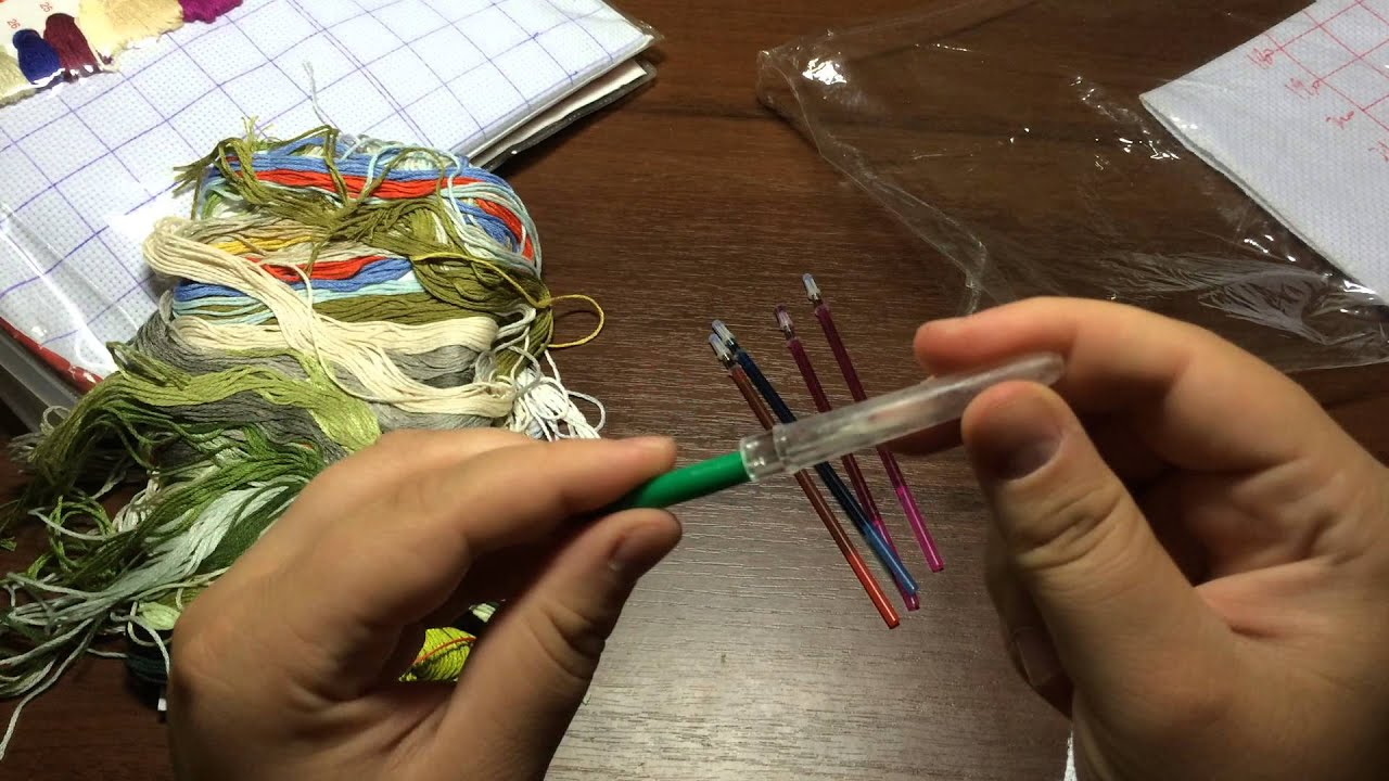 Инструкция к китайским наборам для вышивания 51