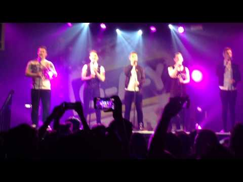 Collabro singing Stars from Les Miserables at G-A-Y Heaven