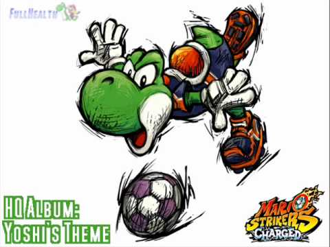 Yoshi S Theme Hq Album Mario Strikers Charged Football