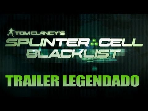 Splinter Cell: Black List - Trailer Legendado PT-BR - Noberto Gamer