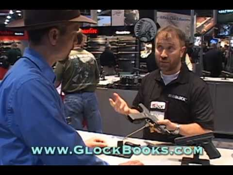 GLOCK Gen4 Backstraps Explained at SHOT Show 2012