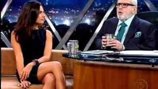 Isis valverde no programa do Jô - Entrevista completa -22/03/11