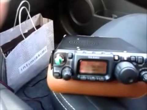 QRP 15m (21MHz) band mobile DX