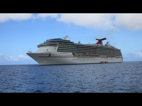 Carnival Spirit Ship Tour