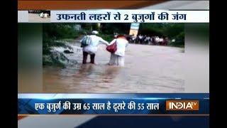 Two elderly men swept away in Maharashtra flood, rescued