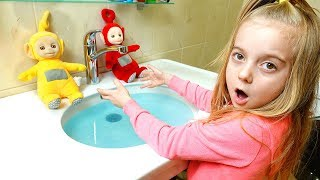 Learn Colors with Teletubbies Johny Johny Yes Papa Song and Nursery Rhymes