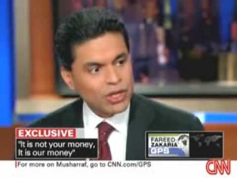 1/3 Fareed Zakaria GPS - Musharraf - full interview - May 17, 2009