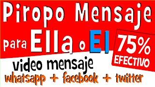PIROPOS DE AMOR Para Mujeres Y Hombres | Para Compartir En Whatsapp Facebook | Mensaje De Amor
