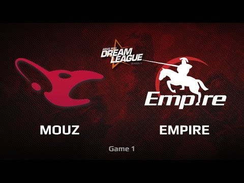 Mouz vs Empire, DreamLeague LB Small Finals, Game 1