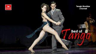 "Tango ""A Evaristo Carriego"". Ayelen Sanchez y Walter Suquia with ""Solo Tango"" orchestra. Танго 2014."