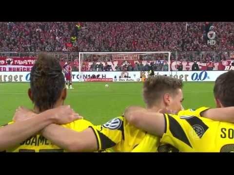 DFB Halbfinale 2016 Elfmeterschießen FC Bayern München - BVB Dortmund