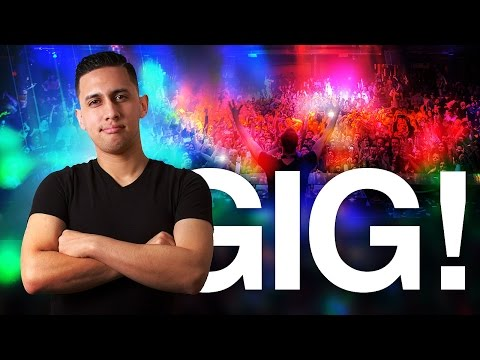 DJ GiG vLOG: Last Minute Club Gig | Mixing Hip-Hop