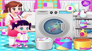 Game Funny - Children Laundry - Education For Kids