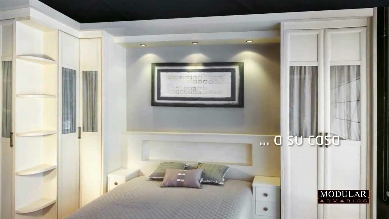 Modular armarios fabricaci n de dormitorios a medida youtube - Armarios de habitacion ...