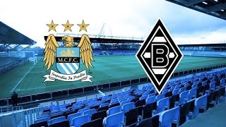 Manchester City - Borussia  Monchengladbach 4-0 | Champions League 2016 2017