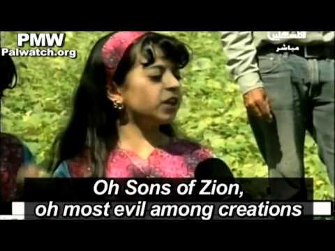 Israel: Palestinians Fed Daily Anti-Israel Propaganda