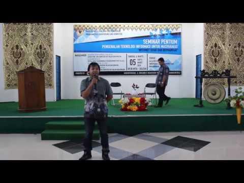 Seminar PENTIUM - Pemateri Oleh Muhammad Irwan Yanwari, S.Kom., M.Eng.