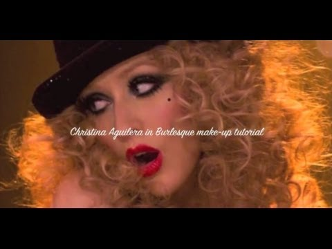 Christina Aguilera Burlesque Inspired Makeup Tutorial video