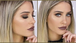 Matte Khaki Eye-Makeup | MRS BELLA