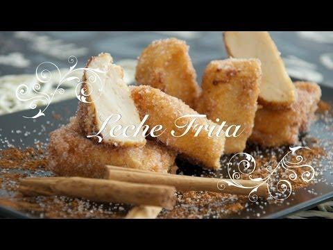 Leche Frita Thermomix - casera facil y economica - Recetas de Cocina por Chef de mi Casa.com