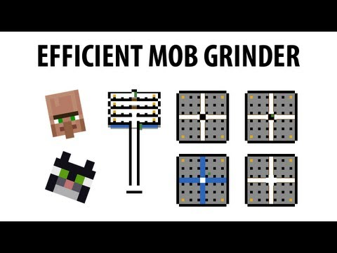 MTandi's Highly Efficient Mob Grinder Tutorial for Minecraft 1.5