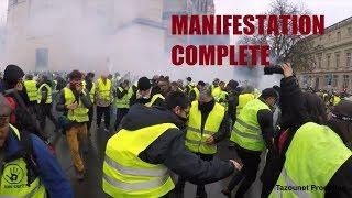 AU CŒUR DES GILETS JAUNES MANIFESTATION COMPLÈTE BORDEAUX 1 DÉCEMBRE 2018
