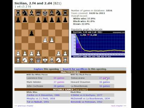 Chess World.net : Chess Opening Explorations: A Sicilian Defence (B20-B99) Dissection! - B21