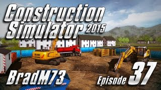 Construction Simulator 2015 - Episode 37 - Finishing the high rise apartment!