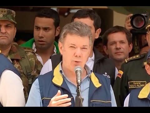 Declaración del Presidente Juan Manuel Santos durante su visita a Betulia, Santander - 11/mar/2015