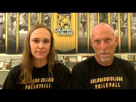 2016 Fall Media Days - Colorado College Volleyball
