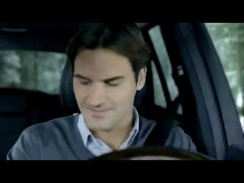 Roger Federer s Chinese TV commercial for Mercedes Benz M Class