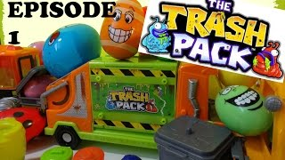 The TRASH PACK Episode 1 HUGE Surprise EGGS Surprise Edition Unboxing Toy Toys Series 1 2 3